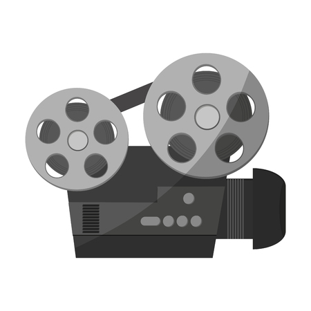 Movie professional video camera vector illustration graphic design 向量圖像