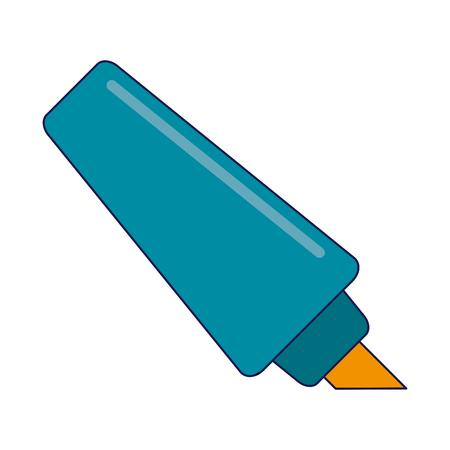 marker office utensil isolated vector illustration graphic design