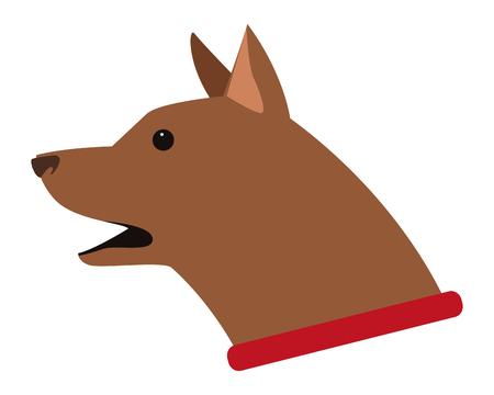 dog animal pet vector icon illustration graphic design