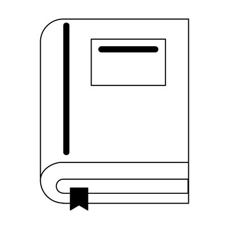 Book education symbol isolated Design