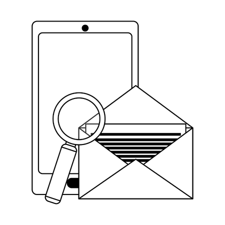 Security system technology symbols and elements vector illustration graphic design