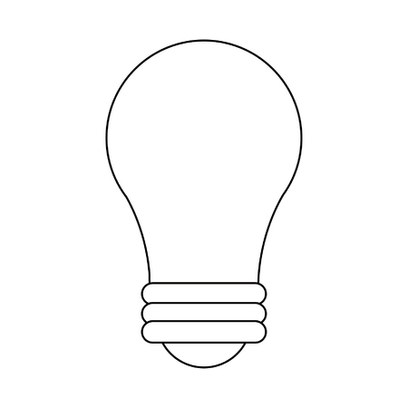 Bulb light symbol isolated vector illustration graphic design 向量圖像