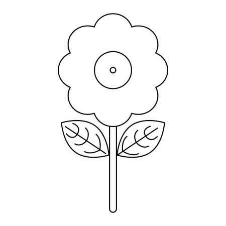 Joke flower with water shoot Designe Иллюстрация