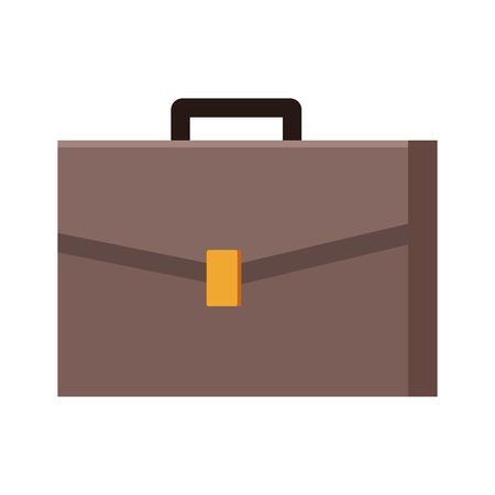 briefcase icon isolated vector illustration graphic design Vectores