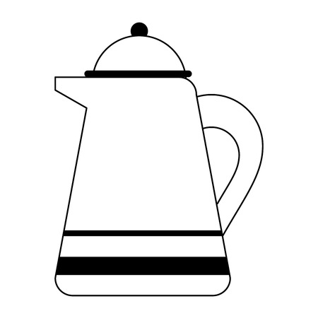 Teapot kettle isolated symbol vector illustration graphic design Ilustrace