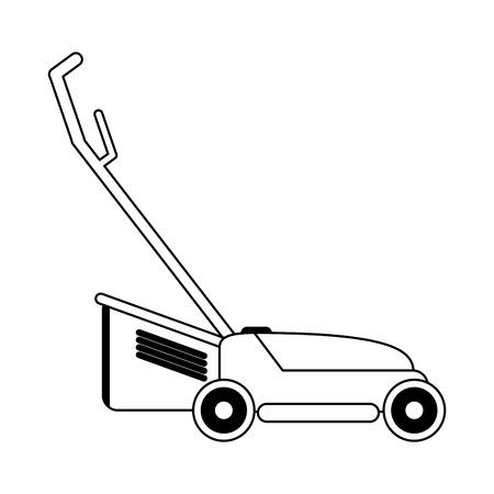 Lawn mower gardening device Designe