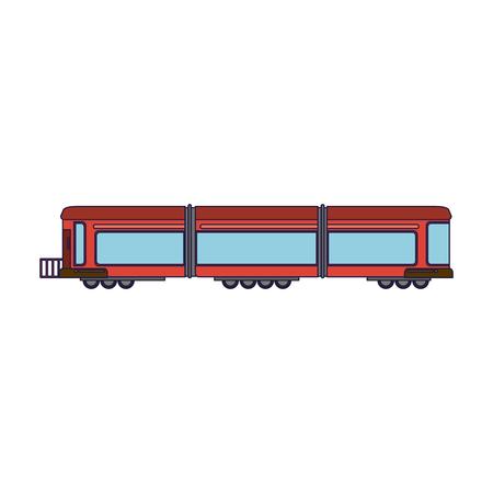 Train vehicle isolated symbol vector illustration graphic design vector illustration graphic design
