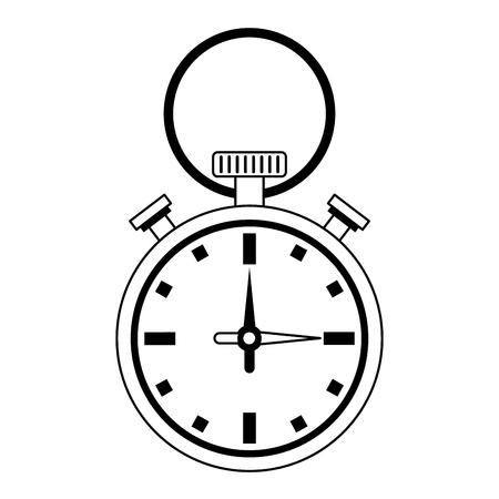 Sport chronometer symbol isolated vector illustration graphic design Иллюстрация