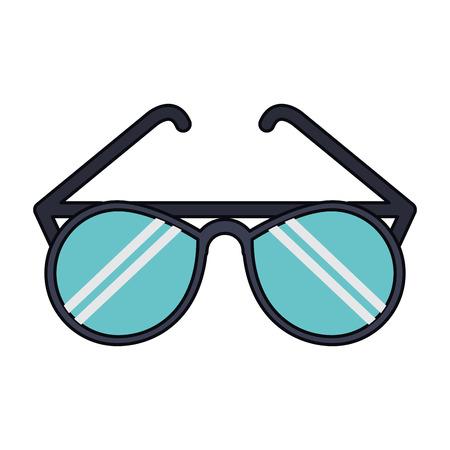Fashion sunglasses cartoon isolated vector illustration graphic design Illusztráció