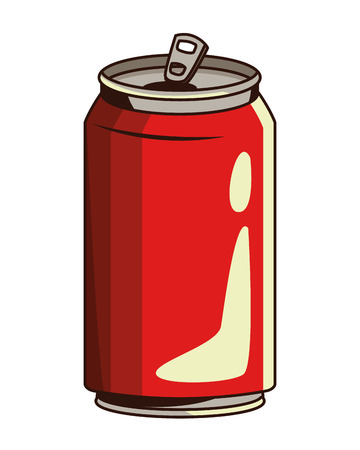 soda can icon cartoon vector illustration graphic design