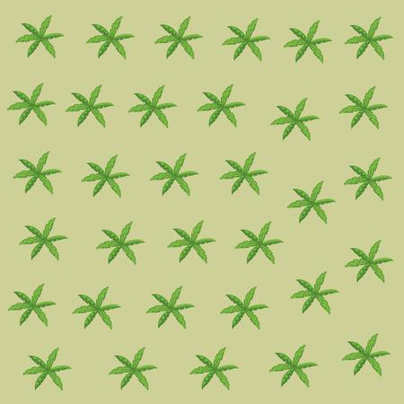 Leaves nature background pattern vector illustration graphic design