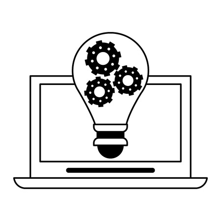 Business teamwork moving cubes avatar vector illustration graphic design Stockfoto - 123073201