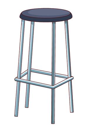 high chair icon cartoon isolated vector illustration graphic design Ilustração Vetorial