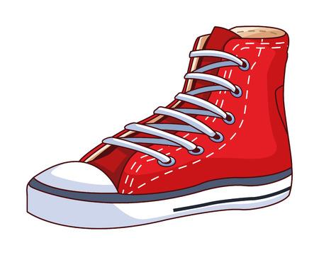 sneaker icon isolated vector illustration graphic design Çizim