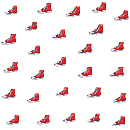 sneaker icons background vector illustration graphic design