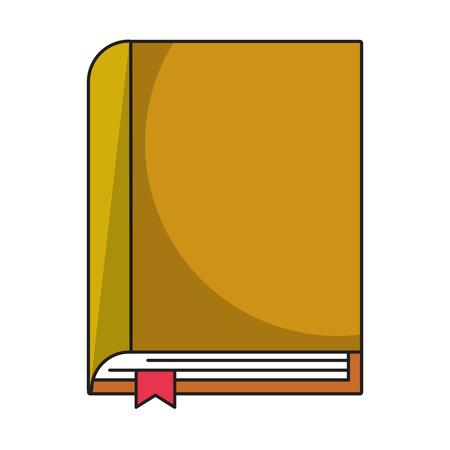 Book education symbol cartoon vector illustration graphic design