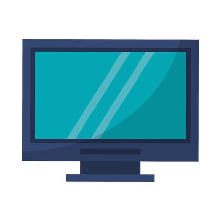 Computer screen techonlogy hardware vector illustration graphic design Illustration