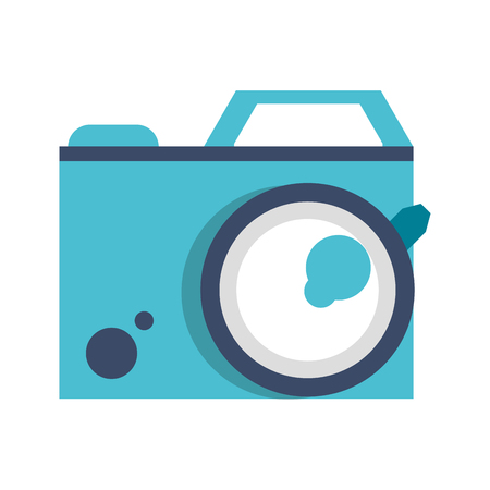 Photographic camera symbol isolated vector illustration graphic design
