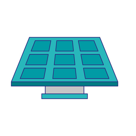 Solar panel green energy vector illustration graphic design Ilustrace