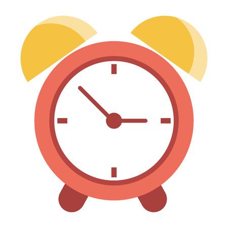 Alarm clock time symbol vector illustration graphic design Stock Vector - 122894238