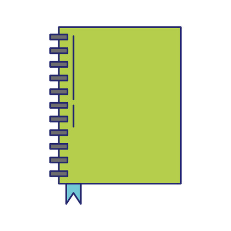 book icon cartoon isolated vector illustration graphic design