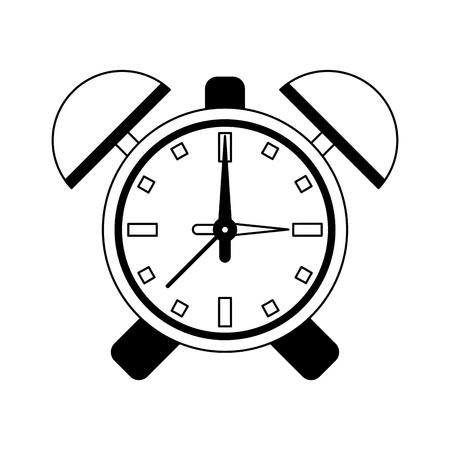 Alarm bells clock symbol vector illustration graphic design Stock Vector - 122856425