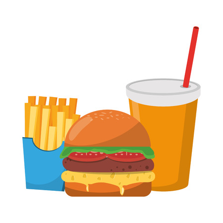 Fast food delicious food restaurant concept
