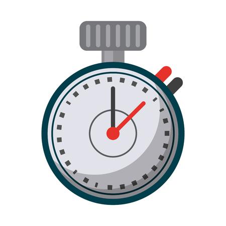 Sport timer chronometer symbol vector illustration graphic design Stock Vector - 122856911