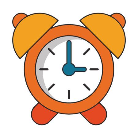 Alarm clock cartoon isolated vector illustration graphic design Иллюстрация