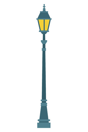 streetlight icon isolated vector illustration graphic design Illustration