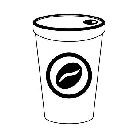Coffee cup to go drink vector illustration graphic design