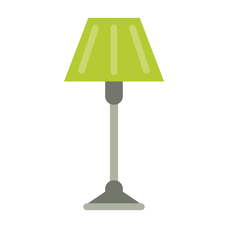 Light lamp symbol isolated vector illustration graphic design