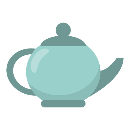 Tea porcelian pot isolated vector illustration graphic design  イラスト・ベクター素材