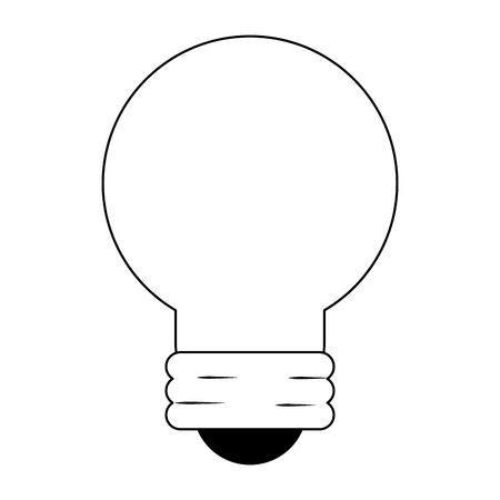 Bulb light saving symbol vector illustration graphic design Ilustração