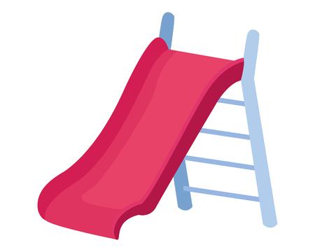 Swing playground game cartoon vector illustration graphic design Illustration