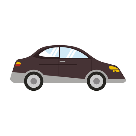 Car sedan vehicle isolated vector illustration graphic design