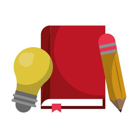 Education and academy cartoons isolated vector illustration graphic design Illusztráció