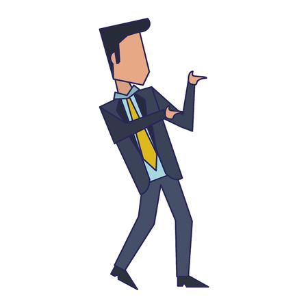 Executive businessman avatar isolated vector illustration graphic design Standard-Bild - 122615080