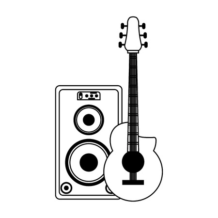 Music instrument and musical studio equipment vector illustration graphic design