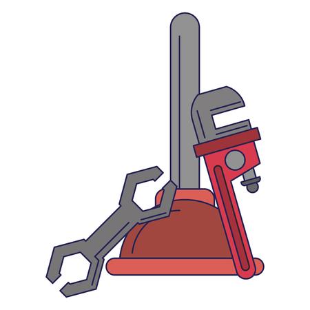 tools construction vector illustration