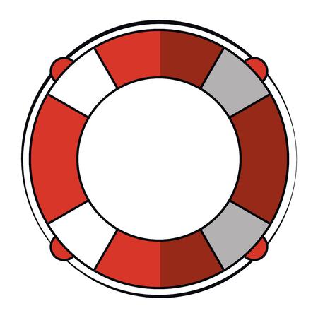 Float marine symbol isolated vector illustration graphic design Illustration