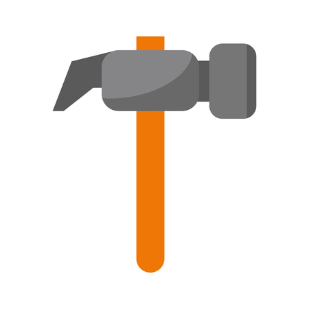 screwdriver tools icon cartoon vector illustration graphic design
