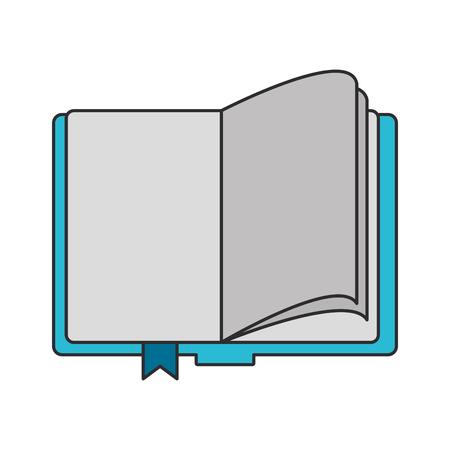 knowledge education element notebook cartoon vector illustration graphic design