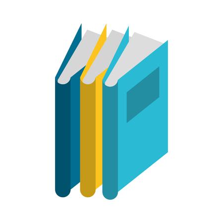 knowledge education element books cartoon vector illustration graphic design Illustration