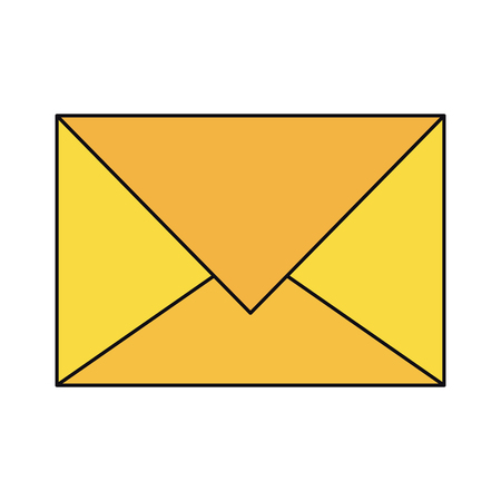 Envelope email symbol isolated vector illustration graphic design Illustration