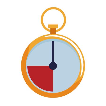 chronometer icon isolated vector illustration graphic design