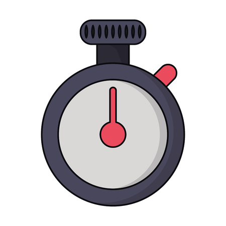 chronometer icon cartoon isolated vector illustration graphic design