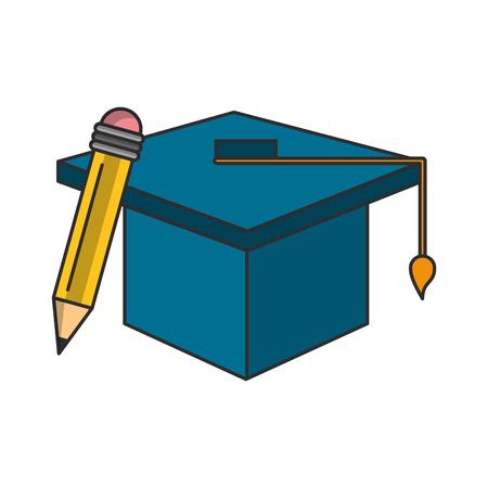 knowledge education concept cartoon vector illustration graphic design Stock Illustratie