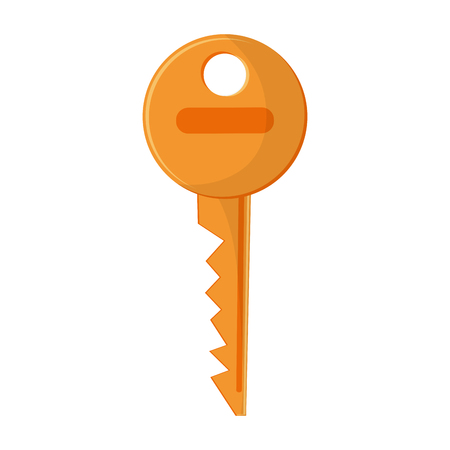 Key locked security symbol vector illustration graphic design