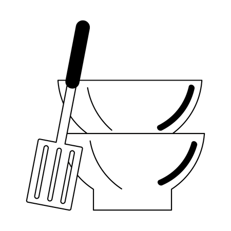 Kitchen utensils and supplies cartoons vector illustration graphic design 矢量图像